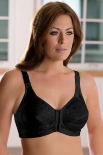 Elila Jacquard Front Close Posture Bra Style 1415