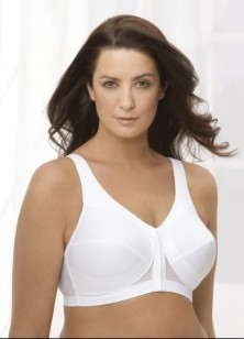 Glamorise Posture Back Support Front Close Bra Style 1265