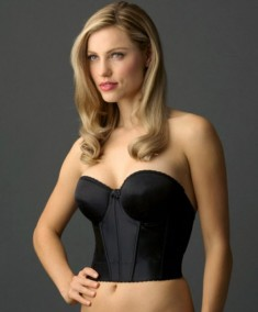 Va Bien Blackless-Strapless Low Back Bra Style 506