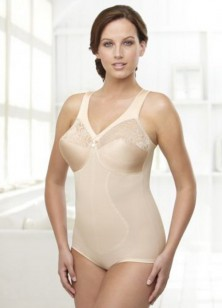 Glamorise Magic Lift Full Figure Body Briefer Style 6201