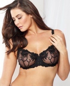 Lunaire Sevilla Scroll Embroidered Underwire Bra 14011