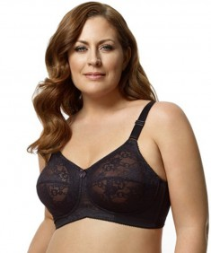 Elila Lace Softcup Bra With Comfort Straps Style 1303