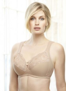 Glamorise Lace Support Soft Cup Bra Style 1145
