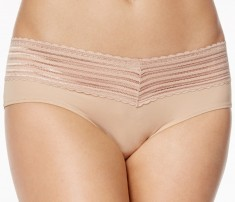 Warner's No Pinch Hipster Lace Panty Style 5609J (3-Pack)